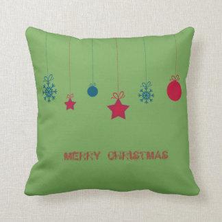 Almofada Adorável, bolas do Natal, Feliz Natal