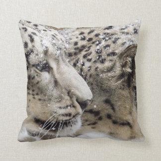 Almofada Afago do leopardo de neve