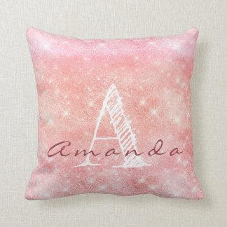 Almofada Aguarela cor-de-rosa conhecida do Pastel dos doces