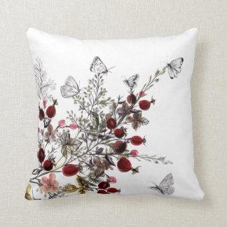 Almofada Aguarela floral e travesseiro decorativo das