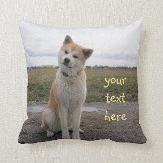 Almofada Akita Inu cute pillow