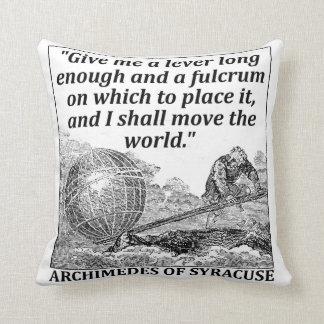 Almofada Alavanca de Archimedes