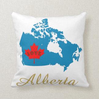 Almofada Alberta personaliza o travesseiro da província de