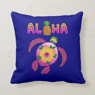 Almofada Aloha tartaruga havaiana de Honu