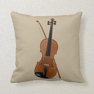 Almofada Amantes do violino, travesseiro musical do