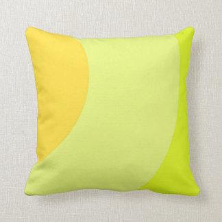 Almofada Amarelo brilhante e vibrante