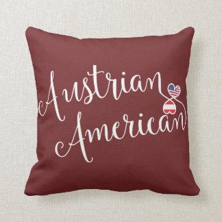 Almofada Americano austríaco coxim entrelaçado do lance dos