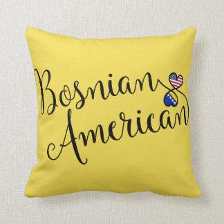 Almofada Americano bosniano coxim entrelaçado do lance dos