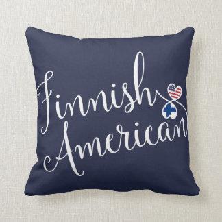 Almofada Americano finlandês coxim entrelaçado do lance dos