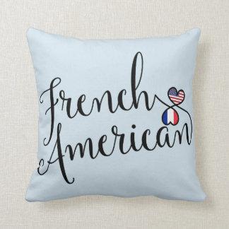 Almofada Americano francês coxim entrelaçado do lance dos