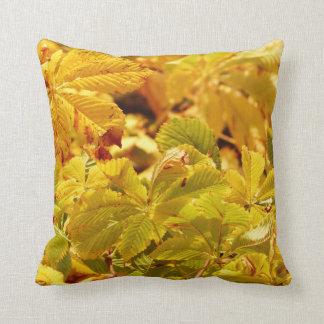 Almofada Amor amarelo da cor do outono