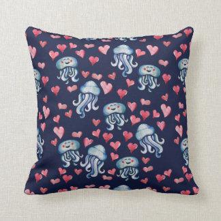 Almofada Amor das medusa