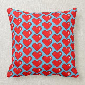 Almofada Amor TP azul de oito bocados