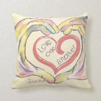 Almofada Amor um outro travesseiro