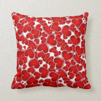 Almofada Amor vermelho do dia dos namorados do querido dos