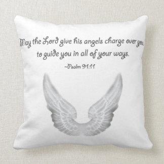 Almofada anjo-da-guarda