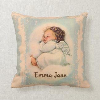 Almofada Anjo-da-guarda personalizado do bebê do sono