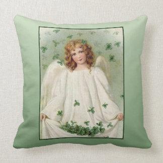 Almofada Anjo do dia de St Patrick