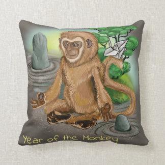 Almofada Ano chinês do zodíaco do macaco