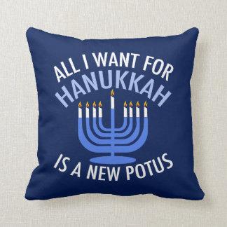 Almofada Anti trunfo Hanukkah