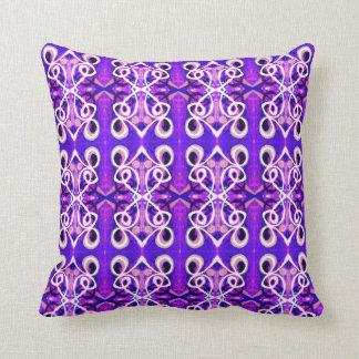 Almofada Apenas travesseiro decorativo abstrato roxo de