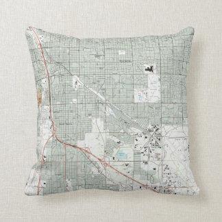 Almofada Arizona Mapa de Tucson (1992)