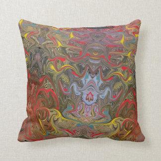 Almofada Arte abstracta colorida