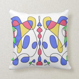 "Almofada Arte abstracta da ""alquimia"""