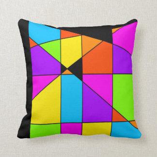 Almofada Arte abstracta de Tetris