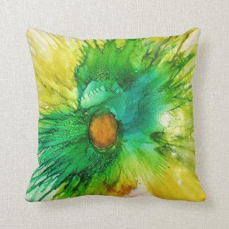 Almofada Arte abstracta original no travesseiro decorativo