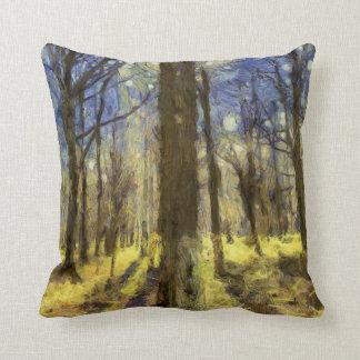 Almofada Arte da floresta de Vincent van Gogh