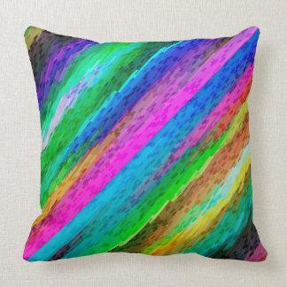 Almofada Arte digital colorida do travesseiro que espirra