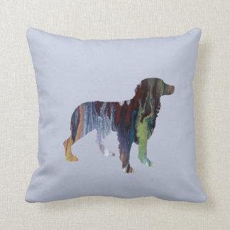 Almofada Arte do cão de Brittany