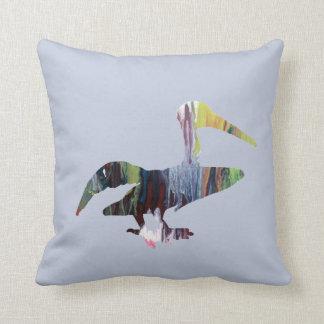 Almofada Arte do pelicano