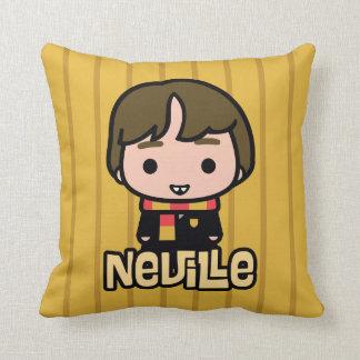 Almofada Arte do personagem de desenho animado de Neville