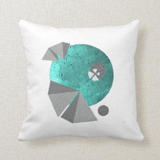 Almofada Arte em um travesseiro - gueixa, assinada digital