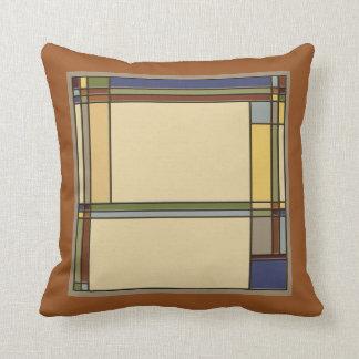 Almofada Artes maravilhosas & padrões geométricos dos