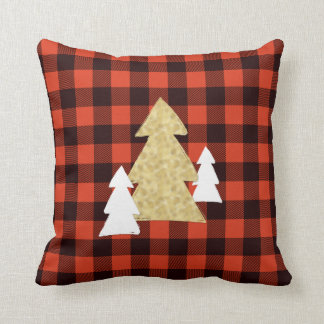Almofada Árvores de Natal no travesseiro decorativo