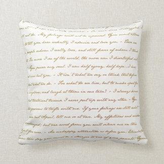 Almofada As citações do melhor de Jane Austen