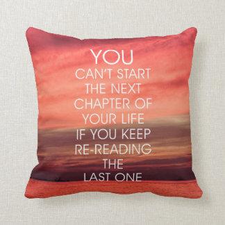 Almofada As citações seguintes da vida do capítulo