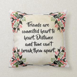 Almofada As inspirações de Becca - travesseiro dos amigos