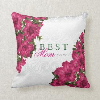 Almofada As melhores flores do lírio do rosa da mãe nunca