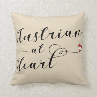 Almofada Austríaco no coxim do lance do coração, Áustria