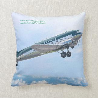 Almofada Aviões do vintage para o travesseiro decorativo do