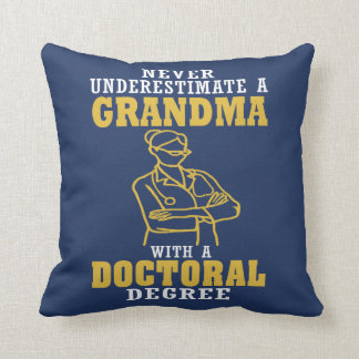 Almofada Avó do doutoramento
