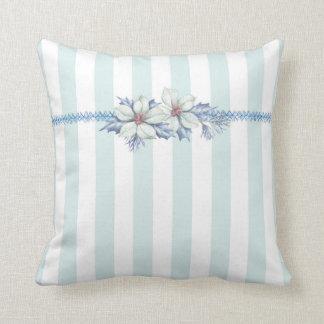 Almofada Azul & travesseiro decorativo do White Christmas