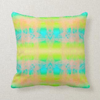 almofada azul verde