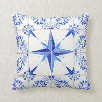 Almofada Azulejo moderno rústico da casa da quinta da