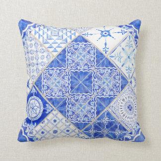 Almofada Azulejo moderno rústico da casa da quinta do teste