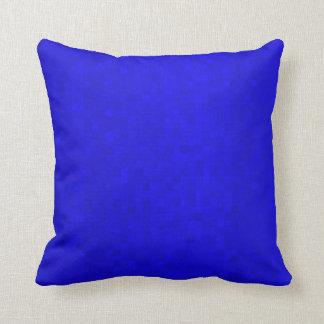 Almofada Azulejos de mosaico azuis quentes, coxim do lance